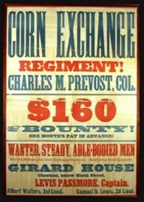 Corn Exchange Bounty Poster