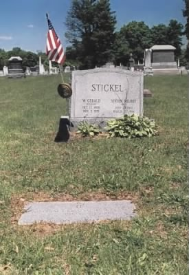 Stickel family plot