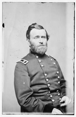 4361 - Portrait of Maj. Gen. Ulysses S. Grant, officer of the Federal Army › Page 1 - Fold3.com