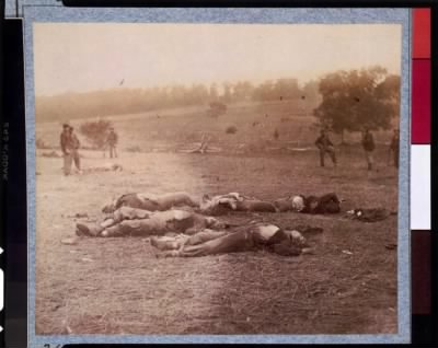 6718 - Federal dead on the field of battle of first day, Gettysburg, Pennsylvania › Page 1 - Fold3.com