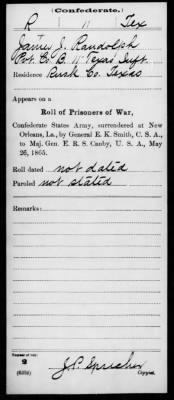 Civil War Service Record Pg.13