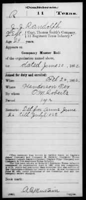 Civil War Service Record Pg.4