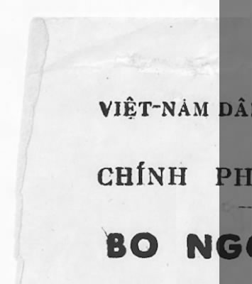 1946 - Ho Chi Minh Letter to President Truman › Page 1 - Fold3.com