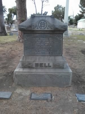 Major Horace C Bell Grave 1
