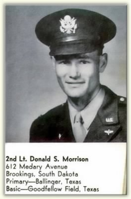 Donald S. Morrison, 2nd Lt.