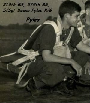 S/Sgt Deane E Pyles, Radio/Aerial Gunner, KIA on 1 Feb. 1944
