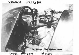 Lt Joseph Edgar Wisby 27th Fighter Group,   522 Fighter Squad, WWII MTO (Italy)