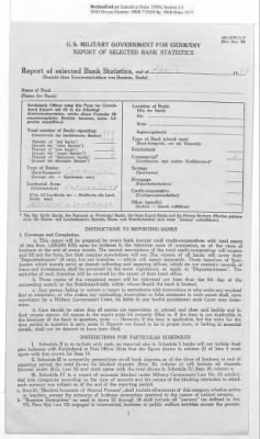 American Zone: Report of Selected Bank Statistics, April 1947 › Page 8 - Fold3.com