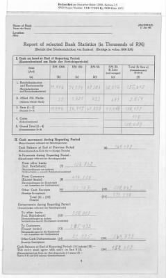 American Zone: Report of Selected Bank Statistics, April 1947 › Page 11 - Fold3.com