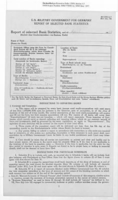 American Zone: Report of Selected Bank Statistics, April 1947 › Page 14 - Fold3.com