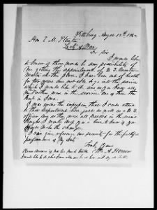 Letters Received by Commission Branch, 1863-1870