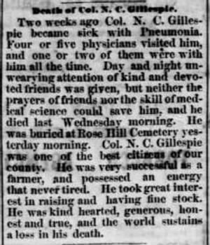 Ninian C Gillespie 1871 Death Notice.JPG