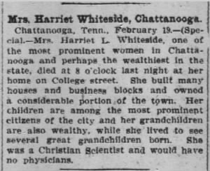Harriet L Whiteside 1903 Atl Const Obit.JPG