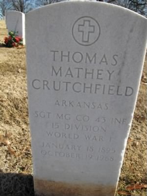 Thomas Mathey Crutchfield
