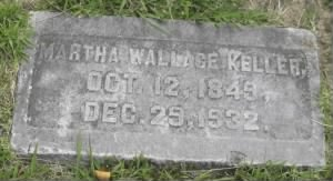 Martha Wallace Keller Headstone.jpg