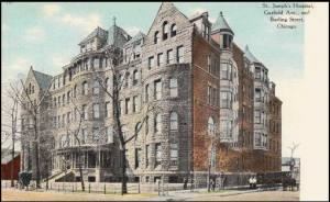 St. Joseph's Hospital.  Chicago, Illinois