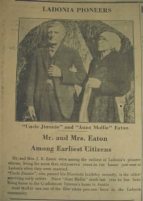 James R and Mollie Eaton Newspaper Article.JPG