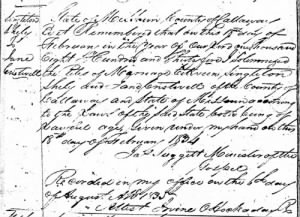 Singleton & Jane marriage record