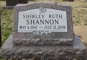 Shirley Headstone