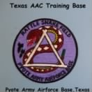 "Pyote AAB  in Texas ""Rattlesnake Field"" Emblem - Patch"
