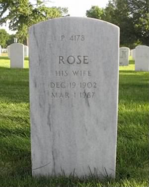 Rose Chappelear Headstone