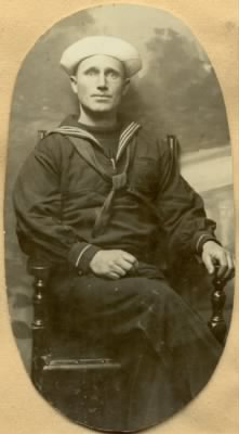 alvin c chamberlain on the eve of sailing for war in france.jpg