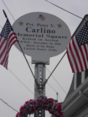 Pvt Peter V. Carlino Memorial Square