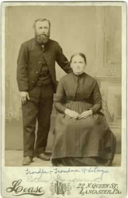 John Tempelton Whitmyer and wife, Elizabeth Dussinger Whitcraft