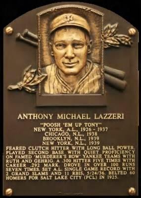 "Anthony Michael ""Tony"" Lazzeri"