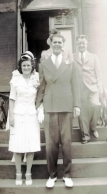 Marriage of Rita Brosnan and Howard V Campbell Sr