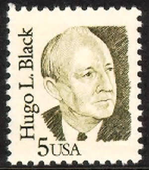 Hugo Black Stamp