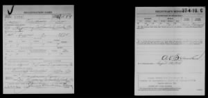 James C. Law WWI Draft Registration