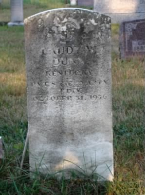 The Grave of Laudy Wilson Dunn