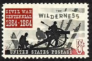 Battle Of The Wilderness Stamp