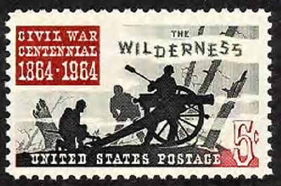 Battle Of The Wilderness Stamp - Fold3.com