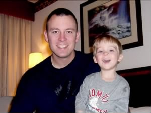 SSG Kevin Jessen and son