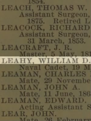 Leahy, William D