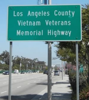 LA County Vietnam Veterans Memorial Hwy