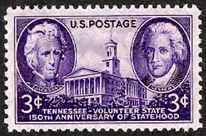 Andrew Jackson, John Sevier & Tennessee state capitol.gif