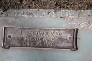 James Howard Price burial marker.jpg