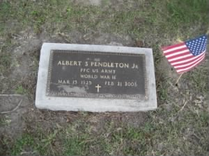 Albert S Pendleton Jr Memorial Day 2013.JPG