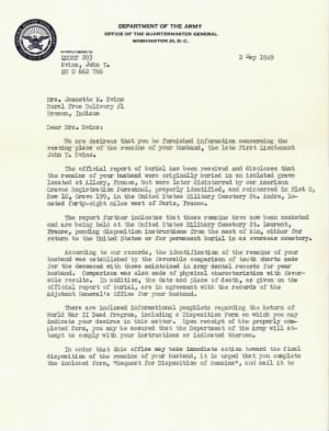 Army Letter May 2 1949 Page 1.jpg