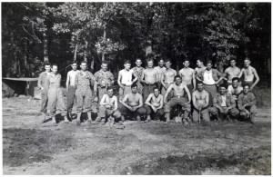 386th UPS on Maneuvers Fort Leonard Wood WWII - 97th Division