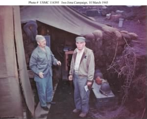 Holland Smith and Schmidt, Iwo Jima Campaign 1945.jpg