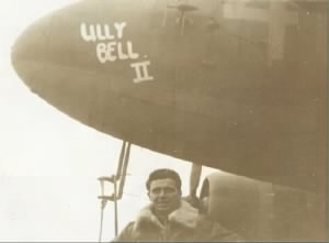 John R Hillmer under the nose of Lilly bell II.png