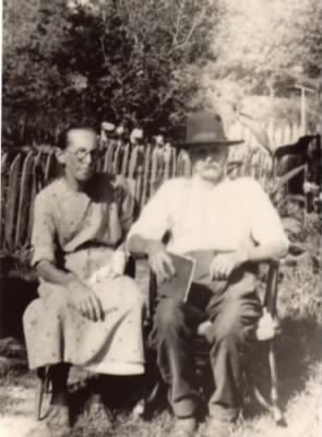 Isaac Mckeethen and his wife Ida E. Sellers Mckeethen