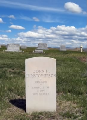 John Christopherson headstone.jpg