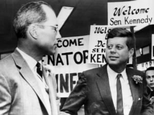 Ex-Football Star Byron White, Senator John F. Kennedy.jpg