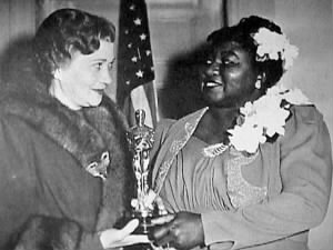 Hattie McDaniel Receives an Academy Award from Fay Bainter.jpg