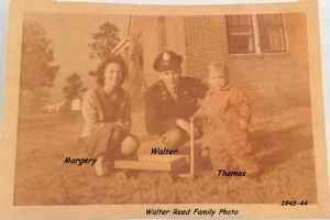 447thBS Lt Walter, Margery and Thomas REED.jpg